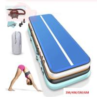 Airtrack Inflatable Gymnastic Mattress Inflatable Yoga Track Artistic Gymnastics Mat Gymnastics Tumbling Mat Indoor Air track