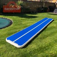 16ft 20ft Air Track 8 inches Airtrack Air Track Tumbling Mat for Gymnastics Martial Art Cheerleading Tumble Track