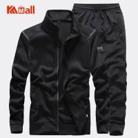 Men'S Sportswear Set Quality Tracksuit Man Autumn Suits 2 Piece Sweatshirt+Pants Sports Suit Male Fashion Clothing Plus Size 7XL