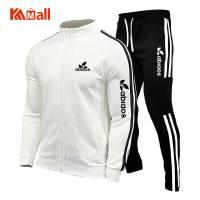 Spring Autumn 2021 New Brand Men's Sports Suits Tracksuits Suit Running Suit Quick Dry Plus Size Jogging Gym Men Tracksuit Set