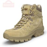Men's Tactical Military Boots Combat Ankle Boots Army Boots Safety Shoes