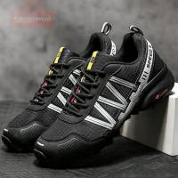 Men Hiking Shoes Waterproof Breathable Boots Desert Outdoor Anti-Slip Trekking Shoes