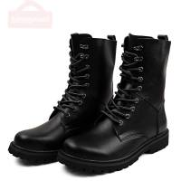 Us Army Shoes Black Hunting Boots For Men Shoes Military Tactical Ankle Boots Outdoor Leather Winter Fur Warm