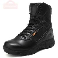 Men  Army Boots High Quality US Military Boots Leather Combat Boots