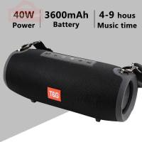 High Power 40W Bluetooth Speaker Waterproof Portable Column For PC Computer Speakers Subwoofer Boom box Music Center Radio