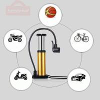 Bicycle Accessories Mini Pump Foot Pump Mini Portable High Pressure Floor Inflator Tire Air Pump For Electric Bicycle Motorcycle
