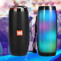 Bluetooth Speaker Portable Speaker Bluetooth Powerful High BoomBox Outdoor Bass HIFI TF FM Radio with LED Light