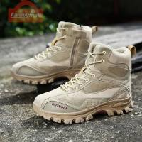 Combat Boots Men Tactical Boots Combat Ankle Military Army Green Boots Outdoor