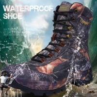 Men Combat Tactical Shoes Military Army Boots Waterproof Camouflage Boots