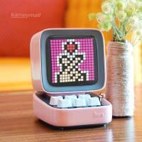 Bluetooth Portable Speaker Alarm Clock DIY LED Display Board, New Year Gift Home light decoration