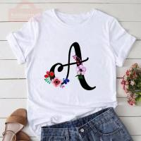 Women T Shirt Harajuku Short Sleeve Tees Shirt Print Letters T-shirt Summer Tee Top