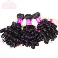 Hair Peruvian Virgin Hair Weave Funmi Hair 3 Bundles Spring Egg Curly Human Hair Bundles No Shedding No Tangle